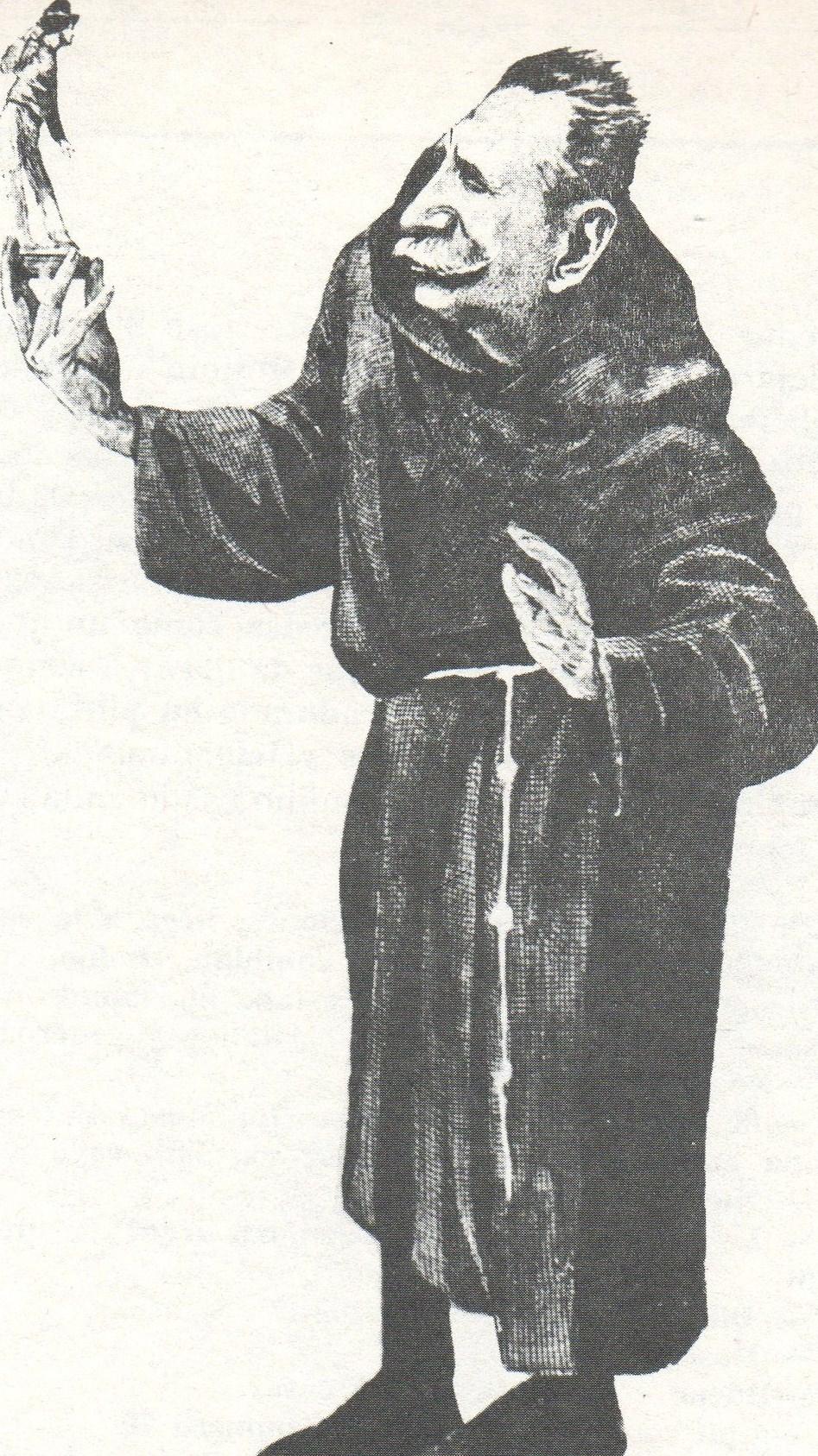 CARICATURA FRAY MOCHO