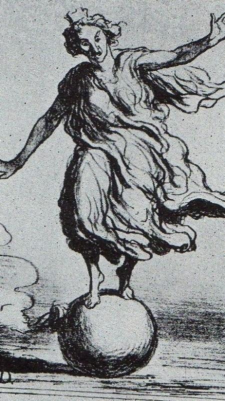 DAUMIER EL EQUILIBRIO EUROPEO - 1867 ABRIL 3